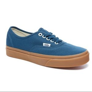 Vans Authentic Blue Low Top Women's Casual Shoes